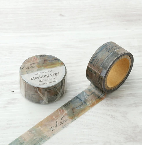 papier platz sunny sunday washi tape