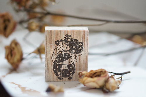 Black Milk Project Rubber Stamp - Clouds
