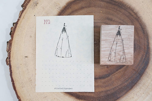 Black Milk Project Rubber Stamps - Mountain