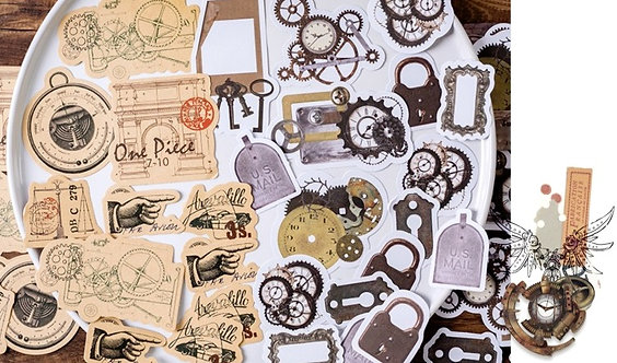 Vintage Hardware Things Sticker Flakes Pack