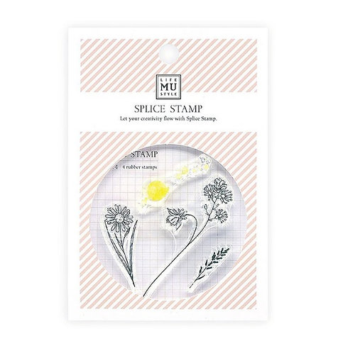 MU Floral stamps