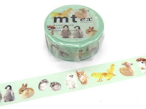 mt ex Baby Animals masking tape