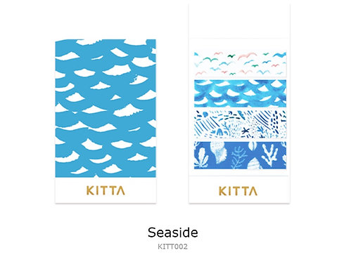 KITTA Clear PET Tape - Seaside KITT002