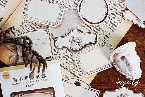 frame stickers, label sticker