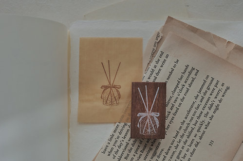Jieyanow Atelier Slow Living Diffuser Rubber Stamp