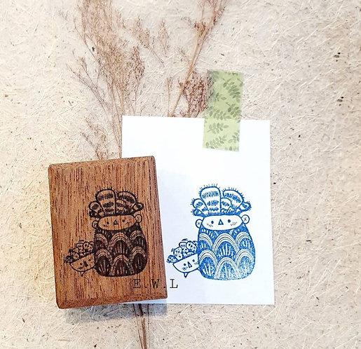 ElsieWithLove - Kakpoot 05 Rubber Stamp