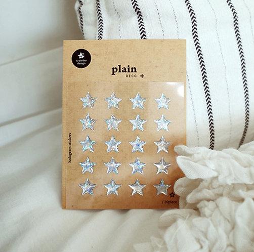 Suatelier Sticker - Plain Hologram Star No. 1659
