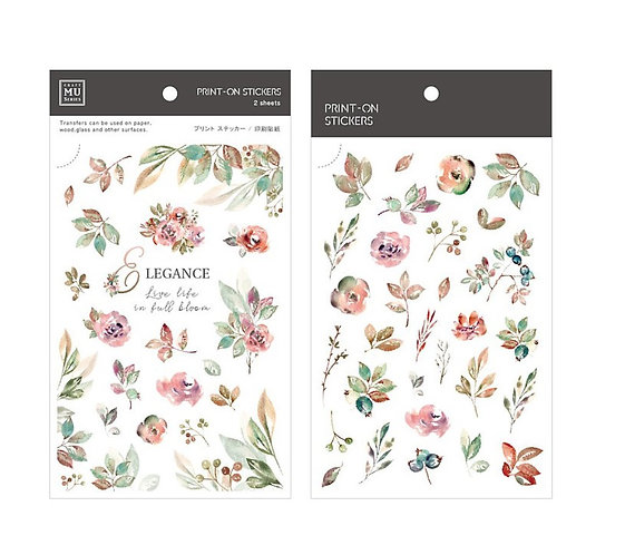 MU print on sticker 142 Elegance
