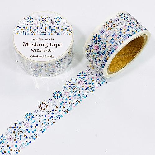 Papier Platz Nakauchi Waka gold foil masking tape fantasy