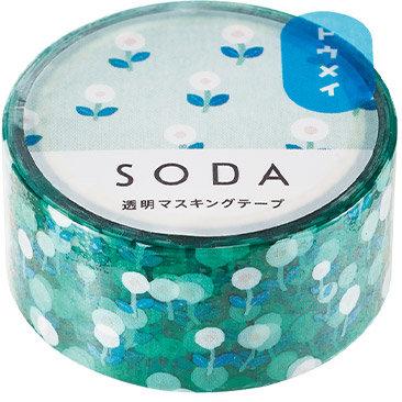 SODA Transparent Masking Tape - Field CMT20-004