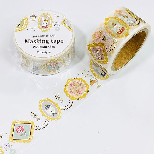 papier platz moriyue gold foil washi tape animal gallery