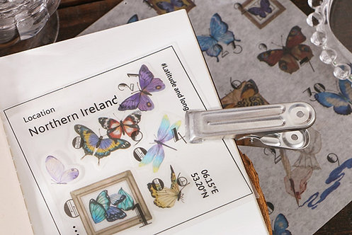 butterfly washi sticker sheets
