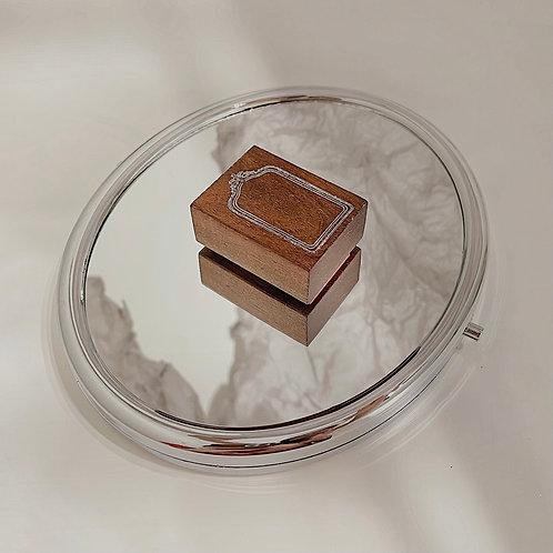 Jieyanow Atelier - 2/5 Rectangle Mirror Rubber Stamp