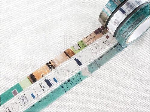 Chamil Garden Colors of Season Washi Tapes Set - USUAO