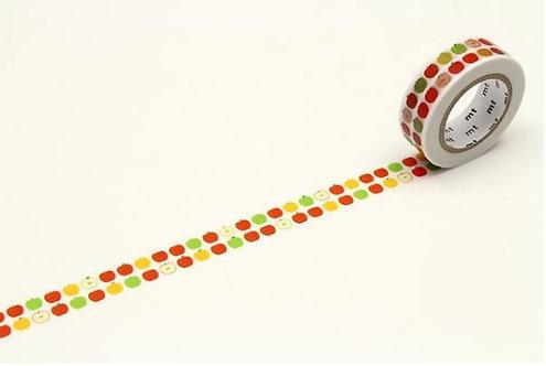 mt ex Apple Pattern Washi Tape / Masking Tape