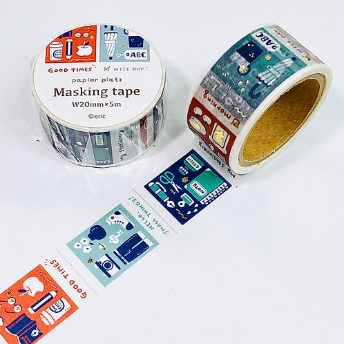 Papier Platz eric small things washi tape Films