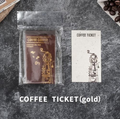 coffee memo pad