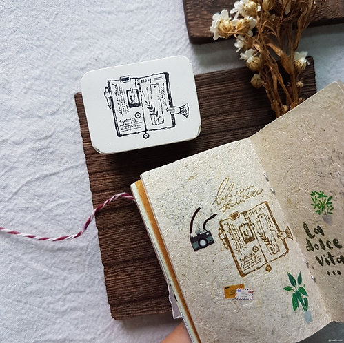 journal lover rubber stamps Novebyvivient
