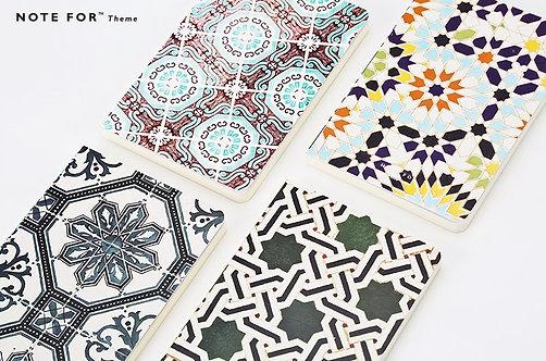 Tiles Theme Notebooks - A5 size