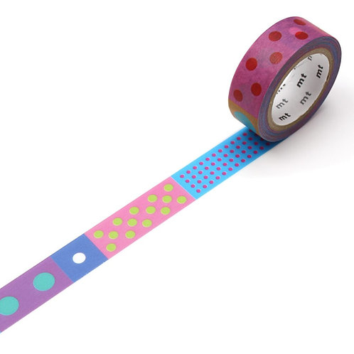 MT x Kapitza - Polka Dot Vivid Washi Tape