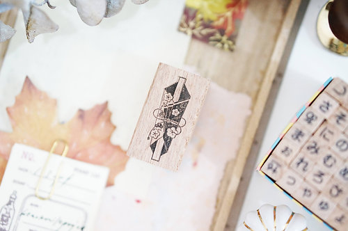 Black Milk Project rubber stamp Noshi