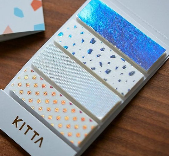Limited Edition KITTA Washi Tape Stickers - Fragment KITL004