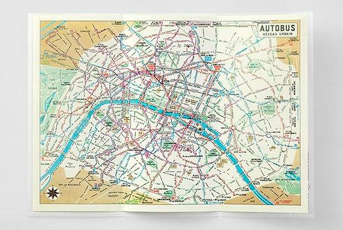 Traveler's Notebook 029 Three-fold File, Regular Size