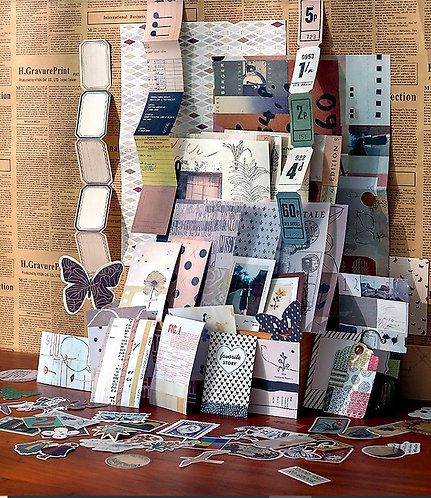 Journaling Supplies Pack (Beige Theme)