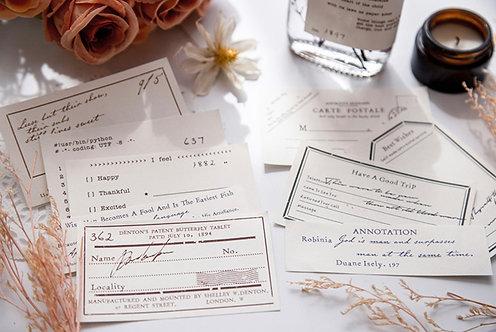 Vintage Labels Paper Ephemera Set (Choose Set)