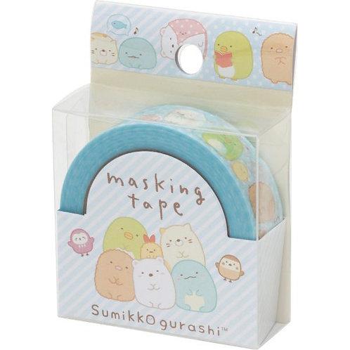 San X Sumikko Gurashi Washi Tape - Happy Life