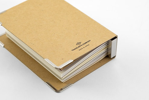 Traveler's Notebook 016 Refill Binder, Passport