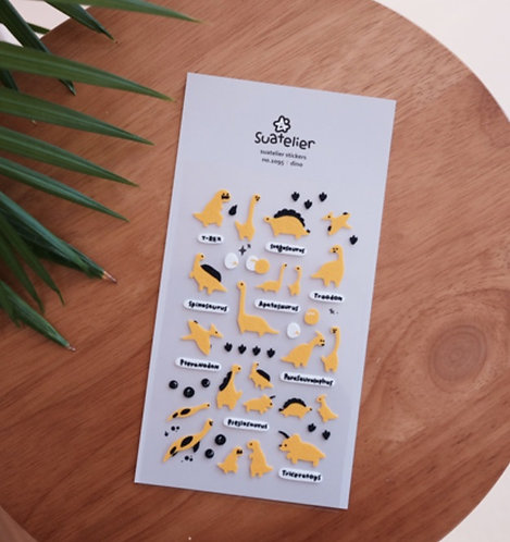 Suatelier Stickers - Dino (No. 1095)