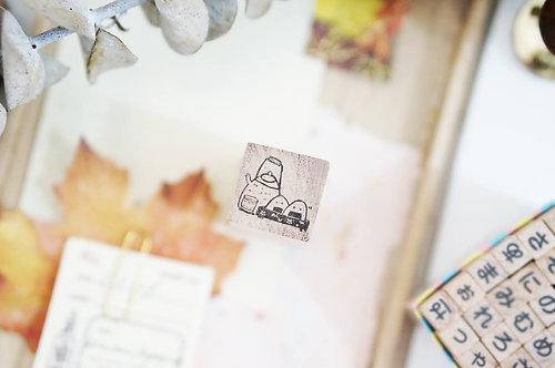 Black Milk Project rubber stamps Mini Oyatsu
