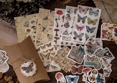 butterfly journal pack
