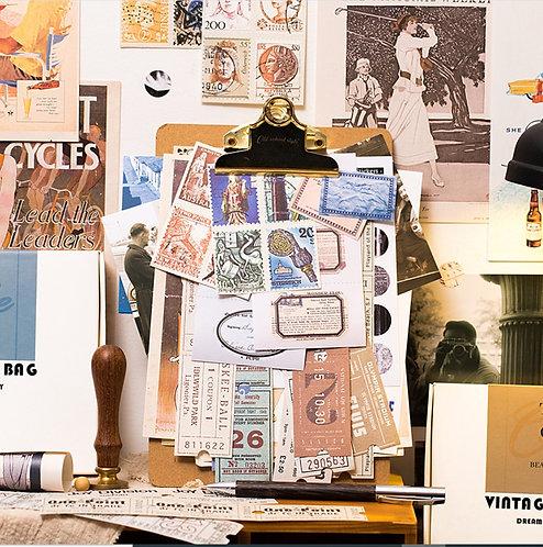 Vintage Castle Journaling Material Pack (Choose Design)