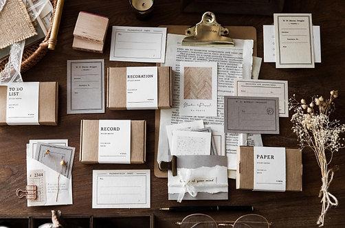Vintage Paper Pack (Choose Design)