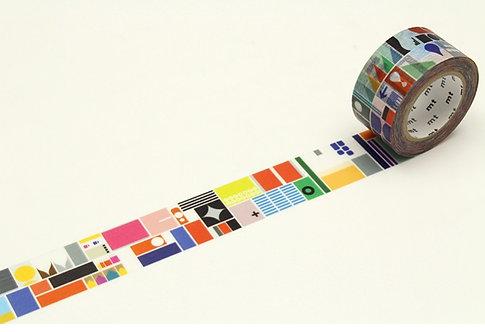 mt AW SDL Remixed Shapes Washi Tape / Masking Tape