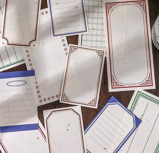 Frame Note Paper / Memo Sheets (Choose Design)