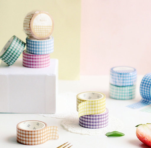 colors washi tape masking tape