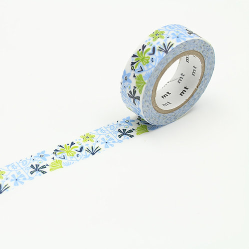 mt x Bengt & Lotta alma blue masking tape