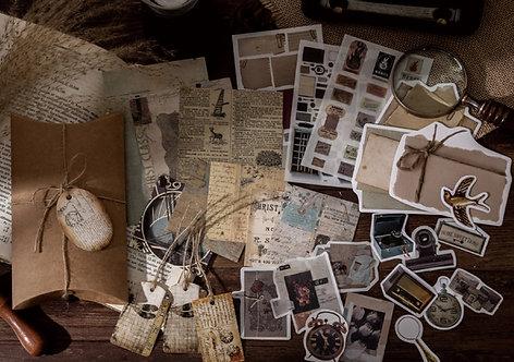 Vintage Things Journaling Pack
