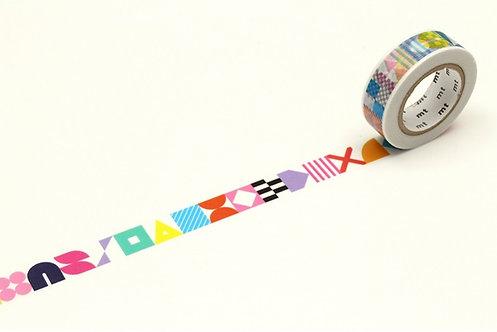 mt AW x Kapitza Symbols Washi Tape / Masking Tape