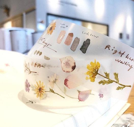 pion  flower pet tape