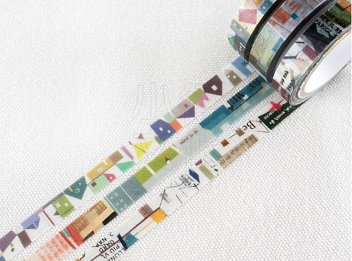 Chamil Garden Colors of Season Washi Tapes Set - BYAKUGUN
