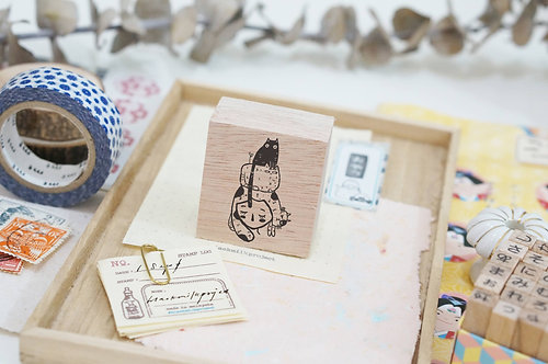 Black Milk Project rubber stamp Cat Stack