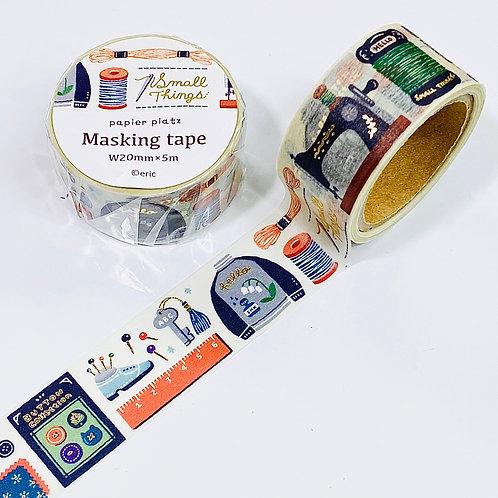 papier platz gold foil masking tape sewing