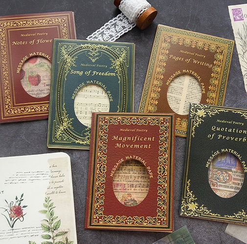 Medieval Poetry Mixed Journal Papers (Choose Set)