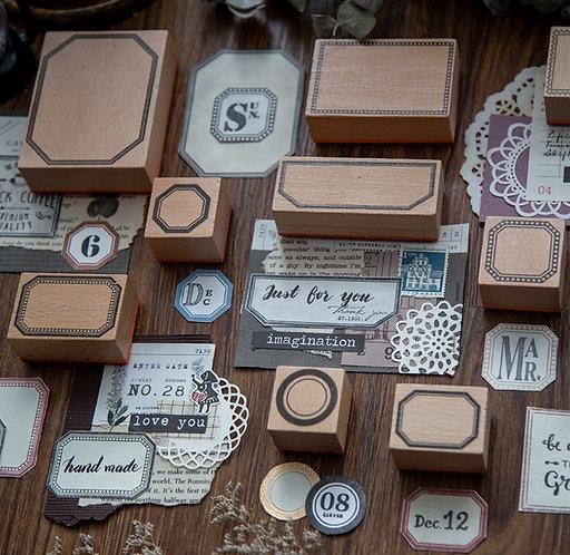 Lovely Frame Rubber Stamp (Choose Design)