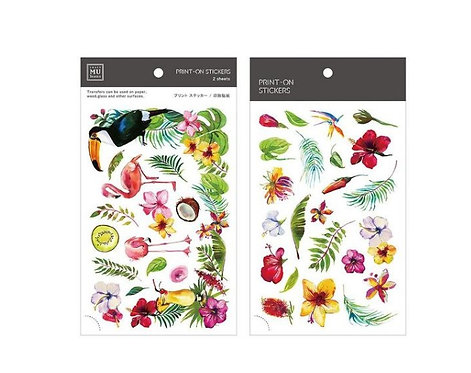 MU Print On sticker