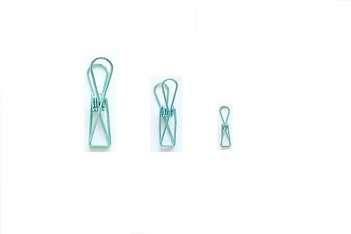 Mint Simple Clips (Choose Small, Medium or Large)